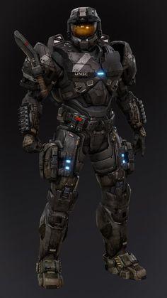Halo Spartan Armor, Halo Armor, Halo Reach Armor, Robot Concept Art, Armor Concept, Arte Tech, Halo Ships, Halo Cosplay, Halo Game