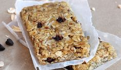 Granola Bars ~ Free of wheat, dairy, eggs, refined sugar, soy, gluten (if using GF oats), and nuts (omit walnuts!)