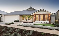 Home Exterior Red Brick and Render Display Homes Perth Brick House Colors, Outside House Colors, House Exterior Color Schemes, Exterior Colors, Red Brick Exteriors, Brick Facade, Facade House, Red Brick Homes, Modern Exterior