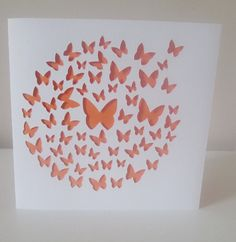 Hand cut butterfly card left blank so great for any occasion by MoorStyleCreations, £3.50