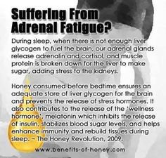 Honey for Adrenal Fatigue