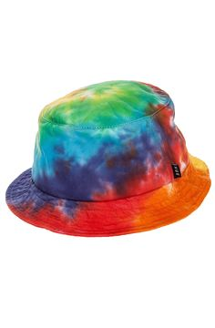 HUF Hat Die Hippie Scum Bucket in Multi - Karmaloop.com