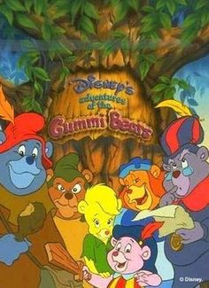 cartoons remember this Gummi Bears was one of my favorite Saturday Morning Cartoons. And you might think that it would suck, based on the title. But Disney really did a good job on this one. 1980 Cartoons, Old School Cartoons, Disney Cartoons, Saturday Morning Cartoons 80s, Old Cartoon Shows, Bear Cartoon, Happy Cartoon, Disney Shows, Disney And More