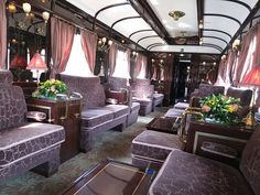 Venice-Simplon-Orient Express lounge