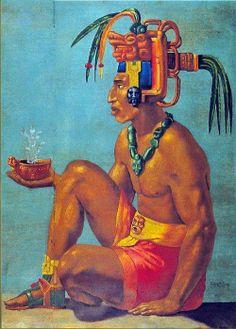 K'inich Janaab' Pakal... Rey Maya en Palenque Chiapas, periodo clasico.
