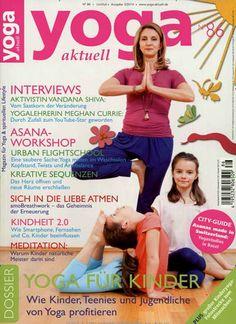 Yoga macht beweglich :-) Gefunden in: Yoga Aktuell, Nr. 86/2014