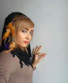 beautiful Iranian girl Persian Girls, Belly Dance, Dreadlocks, Iranian, Hair Styles, Middle, Beauty, Beautiful, Women