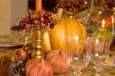 Thanksgiving Table Detail