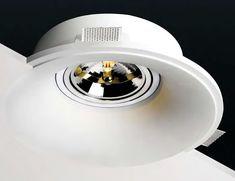 Lámparas de yeso invisibles para techos falsos y de pladur #iluminacion #decoracion #lamparas