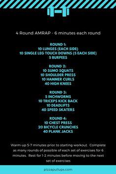 4 Round AMRAP