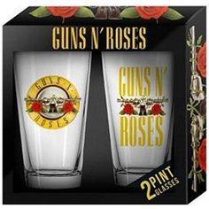 Guns N' Roses: Pint Glass Set