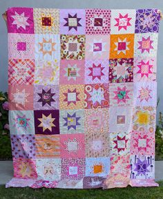 Girly Star Quilt | Flickr - Photo Sharing!