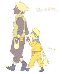 "Naruto: ""Kakashi sensei, are we finished yet?"""