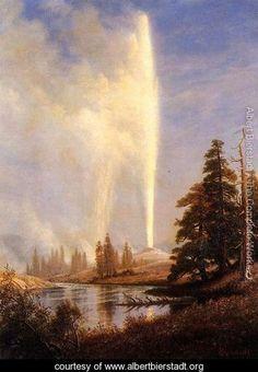 Albert Bierstadt, Old Faithful I