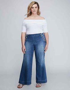 Wide Leg Sailor Jean