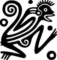 Free Image on Pixabay - Monkey, Mexico, Inca, Maya, Aztecs Motif Vector, Vector Art, Vector Graphics, Aztec Symbols, Arte Tribal, Tribal Art, Tribal Warrior, Marquesan Tattoos, Jungle Animals