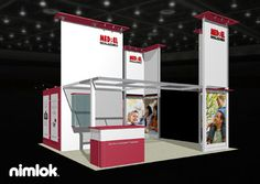 Nimlok builds and designs custom trade show booths and healthcare exhibits. For MED-EL, we designed a custom trade show booth to showcase their brand.