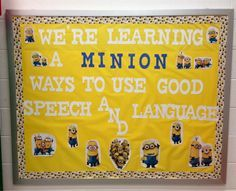 19 Inspirational Speech therapy Bulletin Boards
