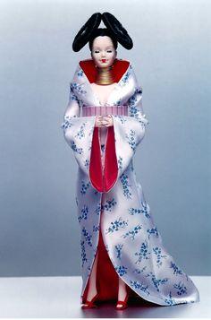 Homogenic doll, original costume designed for Bjork by Alexander McQueen