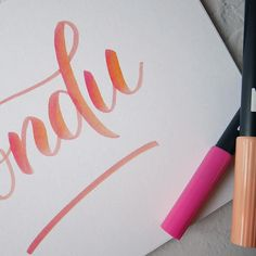 Noëlie | Calligraphique (@calligraphique) • Photos et vidéos Instagram Office Supplies, Notebook, Lettering, Photos, Instagram, Pictures, Drawing Letters, The Notebook, Exercise Book