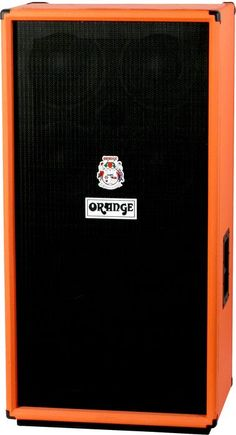 Orange Amplifiers OBC Series OBC810 8x10 Bass Speaker Cabinet  Orange,