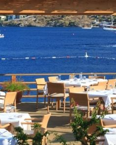 Macakizi Hotel  ( Bodrum, Turkey )  The celebrated restaurant is one of Turkey's best, known for its local produce and wines. #Jetsetter