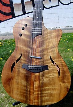 Taylor Guitars T5 x Acoustic Electric Guitar Ovangkol. Bought this off Nashville Craigslist at the depth of the recession. Great price and a great guitar.