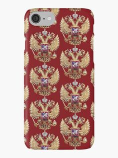Russian Coat Of Arms by Igor Drondin #iphonecasesskins #russiancoatofarms #coatofarms #imperialeagle #russia #devicecases #cover #iPhone #homemade #art #homedecor #giftidea #giftforhim #gift #gifts #giftideas #merchandise #onlinegift #babygift #giftshop #iPod #holidaypresents #giftsforalloccasions #presents #uniquegifts #personalizedgift #giftforher #giftforhim