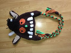 Gruffalo hat - I think I shall have to make at least one of these
