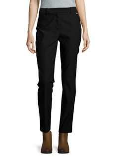 Calvin Klein - Straight-Leg Ankle Pants