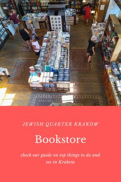 Learn more about this quirky bookstore in the Jewish Quarter, Krakow and all the other tips you need when travelling to Krakow Poland.