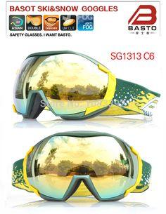 7f44975610 Time Limited UV Protection Ski Eyewear Big Duoble Lens Snow Skiing Goggles  Winter Sports Glasses Multi