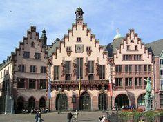 Römer in Frankfurt/Main  #TheWorldIKnow  http://www.pinterest.com/easyvoyagede/reisen-in-deutschland/