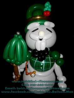 Sam The Snowman, Rudolph the Red-Nosed Reindeer ( Balloon )