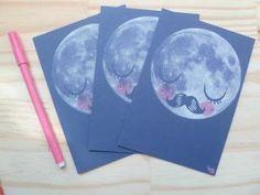 Carte Postale Moon