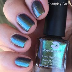 Lilypad Lacquer Changing Pace, from the This Life Collection. Released Fall/Winter 2015 (pinned from Almost Famous Nails)