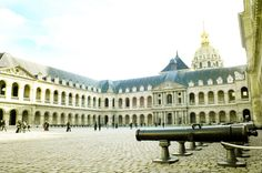 Inside The Invalides.    Find out more on our blog: http://cadran-hotel-gourmand.com/