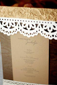 invitation, paper craft, font