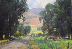 "Kathryn Stats | Illume Gallery of Fine Art ""Country Road"""