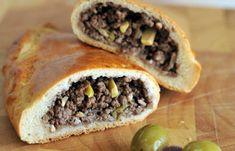 Fatayer: Meat & Olives