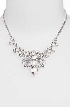 Givenchy Crystal Bib Necklace (Nordstrom Exclusive) available at #Nordstrom