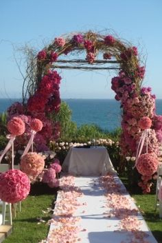 amazing!  Who needs a wedding, just put in your garden!