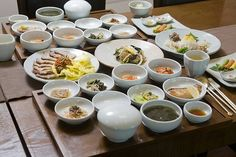 Korea_Korean-style food Hansik(한정식)