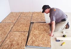 Fresh Basement Subfloor Insulation
