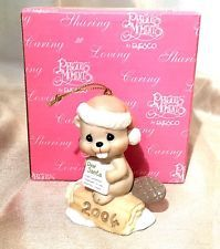 "Precious Moments Christmas Ornament ""Bea-Ver-Y Good This Year"" 2004"