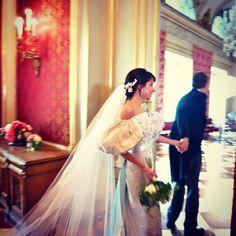 Casamento de Caroline Sieber. #casamento #famosos #CarolineSieber