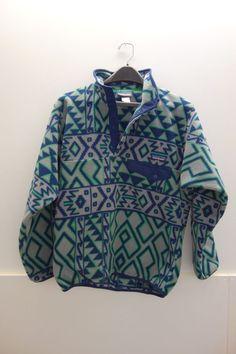$119 Patagonia Men's Rare Snap t Fleece Pullover Sz XS Small  #Patagonia #FleeceJacket