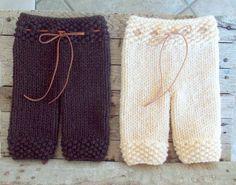 Newborn Knit Pants