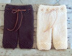 Newborn Knit Pants - Baby Knit Pants - Photo Prop Pants - Knit Pants - Newborn Photo Prop - Available in many colors. $33,00, via Etsy.