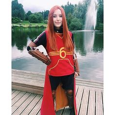 Ginny Weasley Halloween costume